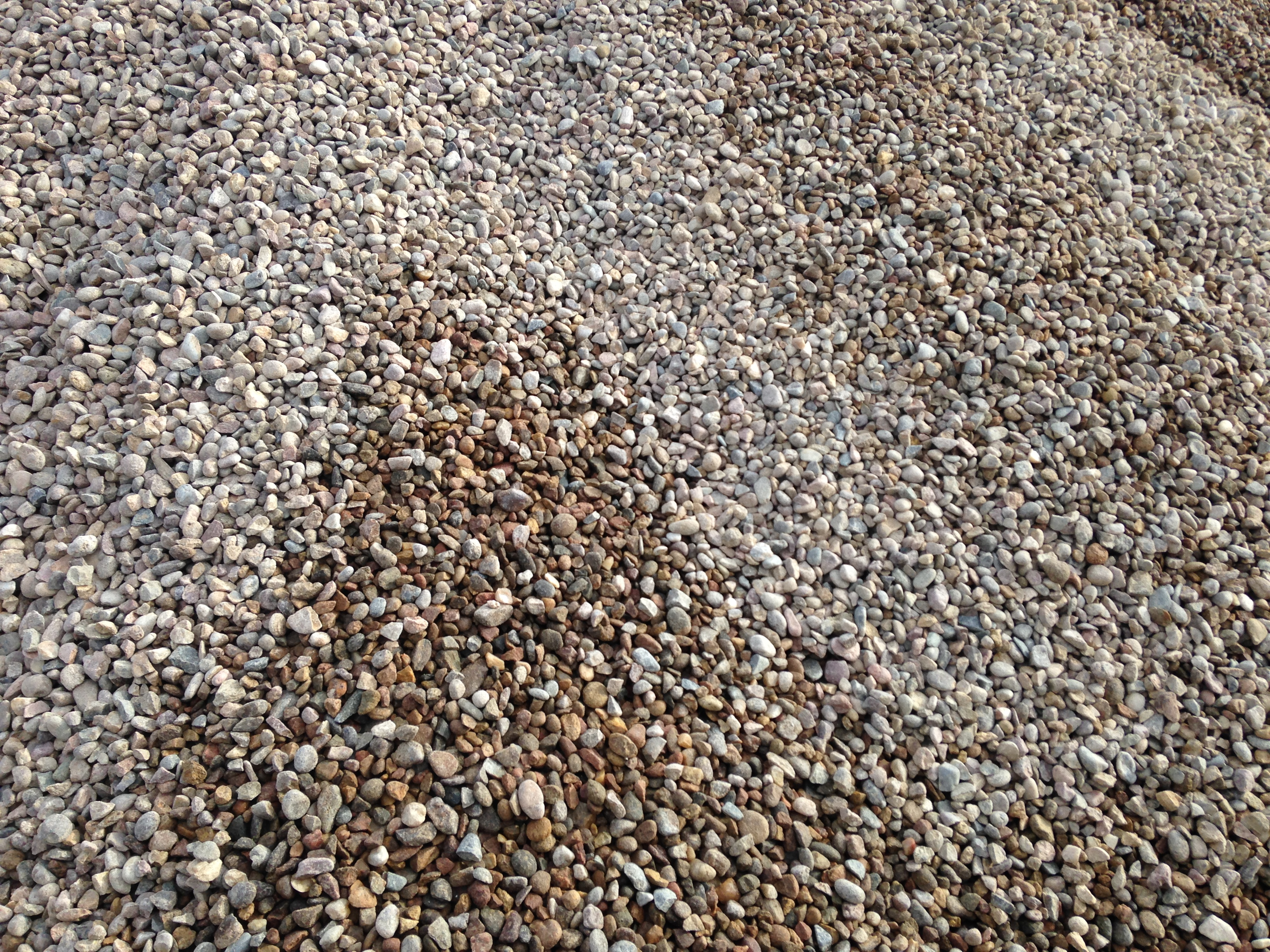 Sand River Rock Crushed Rock Cobblestone Pea